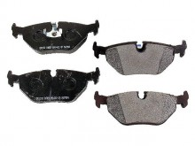 Brake Pad Set Rear: 3 series E46, 5 Series E39, X Series E53 and 7 Series E38